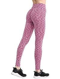 Amazon.es  yoga - Negro   Leggings   Mujer  Ropa 03ef2526a0ab