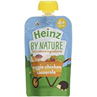 Heinz Vegetable and Chicken Casserole Puree Pouch, 100 g (Pack of 6) preiswert
