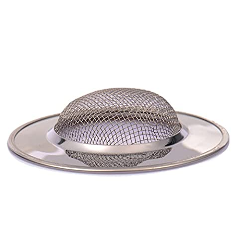 Sink Filter Stainless Steel Sink Strainer Protector Food Particles Catcher
