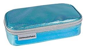 Eberhard Faber 577563Estuche Jumbo, Glitter Azul