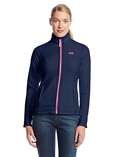 Helly Hansen W Daybreaker Fleece Jacket - Chaqueta de forro polar para mujer, color azul oscuro, talla XS