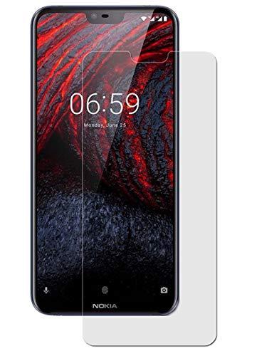 Maoni Bildschirmschutzfolie für Nokia 6.1 Plus (2018) - (3 Stück) kristallklare Anti-Shock Bildschirmschutzfolie - Crystal Clear Schutz Folie - Bildschirmfolie
