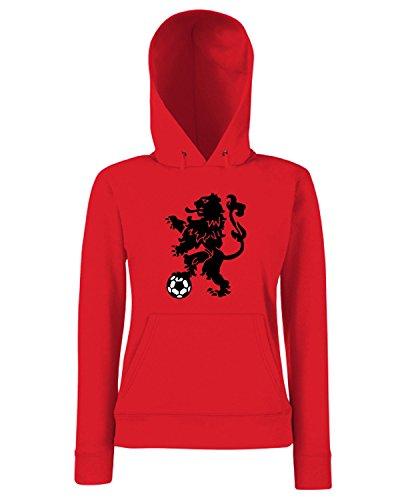 T-Shirtshock - Sweats a capuche Femme WC0090 OLANDA HOLLAND NEDERLAND Rouge