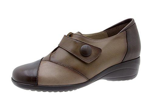 Scarpe donna comfort pelle Piesanto 3984 strappi scarpe casual comfort larghezza speciale