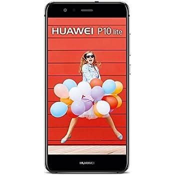 HUAWEI P10 Lite Nero Display 5.2 Full HD OctaCore Ram 4GB Storage 32GB +Slot MicroSD Wi-Fi + 4G Fotocamera 12Mpx Android 7.0 - Italia