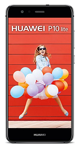 HUAWEI P10 lite Smartphone (13,2 cm (5,2 Zoll) Full-HD Display , 32 GB, Android 7.0 Nougat mit HUAWEI Emotion UI 5.1) Schwarz