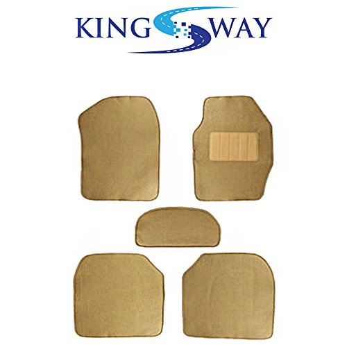 KINGSWAY Carpet Mats for Toyota Old Innova (BEIGE)