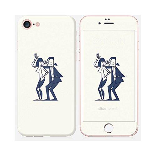 Sticker iPhone 6 et 6S de chez Skinkin - Design original : Shut up and dance par Ale Giorgini Skin iPhone 7