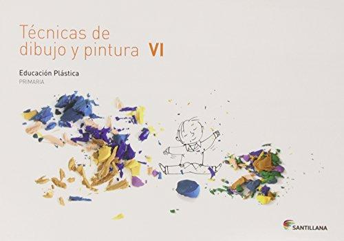 CUAD TECNICAS DE DIBUJO Y PINTURA VI 6 PRIMARIA - 9788468017792 por Aa.Vv.