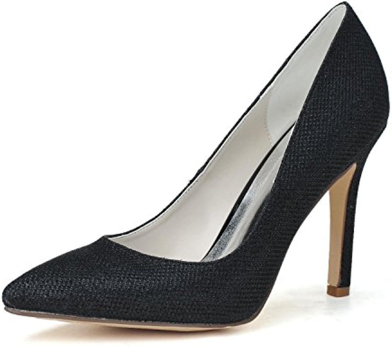L YC Chaussures De Mariage Pour Pour Pour Femmes   0608-15 Soie Pointue eaeb4849c797