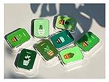 ADream Mini casi di occhiali creativi Custodia per scatola da viaggio con custodia delle lenti a contatto modello per piante carino (colore casuale)