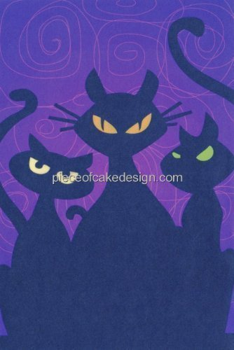 Dark Cat Eyes ~ Edible Image Cake Topper by A Birthday Place