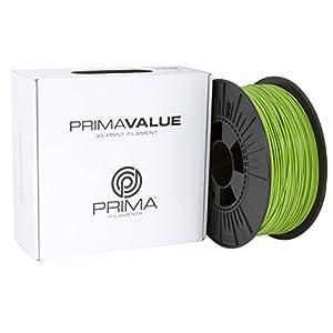 Prima Filaments PV-PLA-175-1000-GN Filamento Pla, 1.75 mm, Bobina da 1 kg, Verde