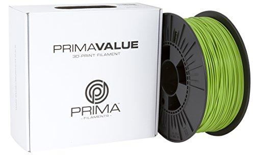 Prima Filaments PV-PLA-175-1000-GN PLA Filament für 3D-Drucker, 1.75 mm, 1 kg spule, Grün