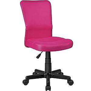tectake b rostuhl drehstuhl schreibtischstuhl diverse farben pink nr 401792. Black Bedroom Furniture Sets. Home Design Ideas