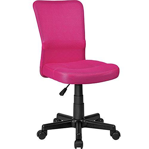 TecTake Bürostuhl Drehstuhl Schreibtischstuhl - Diverse Farben - (Pink | Nr. 401792)