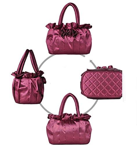 LAIDAYE Damen-Temperamentpaket-Art Und Weisedamen-Abendbeutel-Handtaschenhandtasche 3