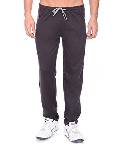 Goldstroms Mens Sports Track Pant with Zipper Pocket (XX-Large, Elephant Grey)