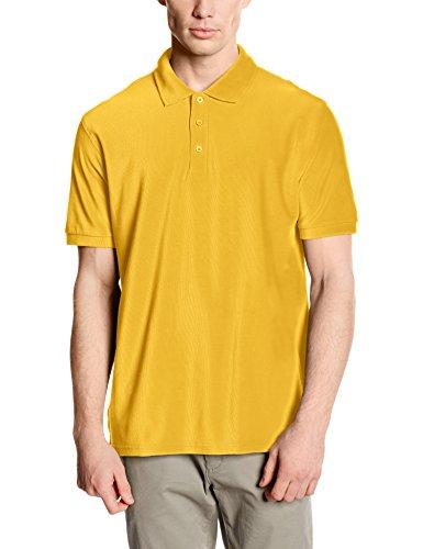 Fruit of the Loom Herren Poloshirt Yellow (Sunflower Yellow)