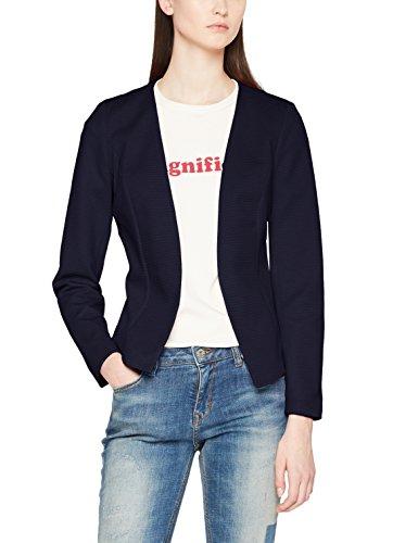 ONLY Damen Anzugjacke Onlanna Short Blazer Noos Tlr, Blau (Night Sky Night Sky), 34