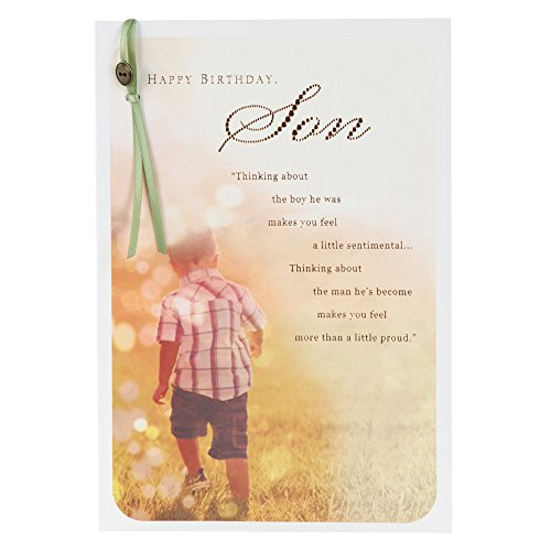Special son birthday cards amazon hallmark birthday card for son proud of the man youve become medium bookmarktalkfo Choice Image