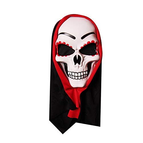 DERKOLY Horrible Bloody Monster Demon Mask Cosplay Halloween Costumes Party Headgear 2#