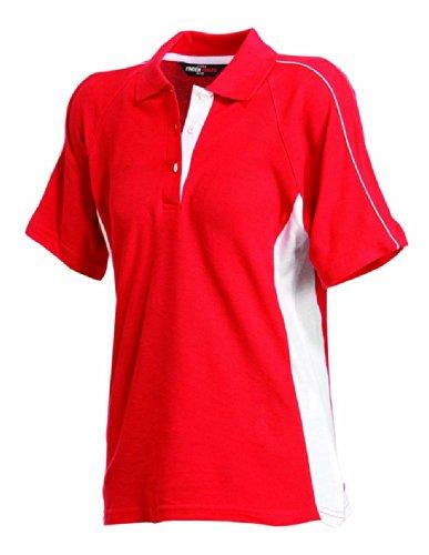 Finden & Hales - Polo -  Femme Rouge - Rouge