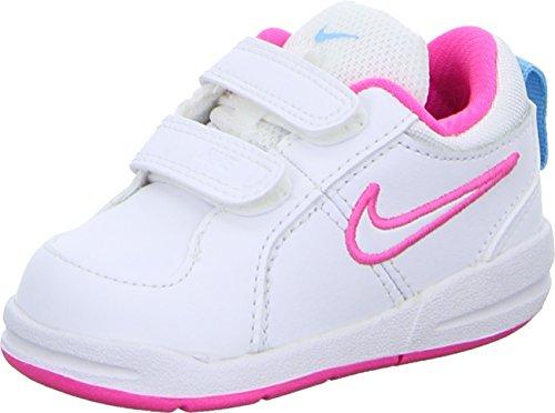 Nike–Pico 4(TDV) für Kinder, mehrfarbig - Weiß / Rosa / Blau - Größe: 26 (Nike Schuhe Größe 4)
