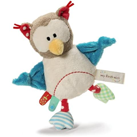 My First NICI Owl Grabber with Rattle