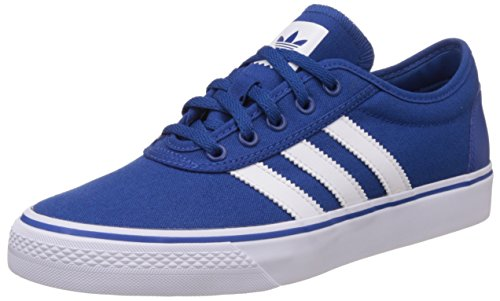 adidas Originals Men's Adi-Ease Blue and White Sneakers - 11 UK  available at amazon for Rs.3649