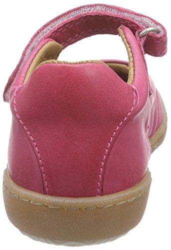 Bisgaard Mädchen Ballerina Mary Jane Halbschuhe Pink (14 Pink)