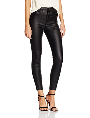 ONLY Damen Hose Onlroyal Hw Sk Ank Rock Coated Pim Noos Abbildung 2