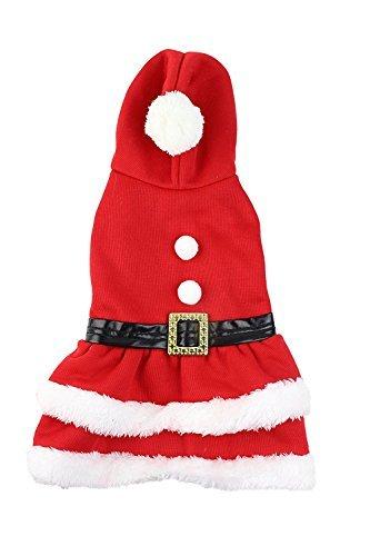 Santa Kostüm Und Claus Frau - Midlee Frau Claus Santa Hund Kleid Kostüm von, Small Dog Large