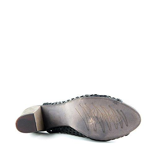 Felmini - Scarpe Donna - Innamorarsi com Braga 8780 - Tacchi alti - Pelle Genuina - Nero Nero
