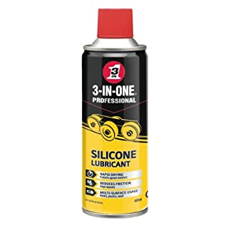 3 in One Professional Silicone Lubricant - 400 ml