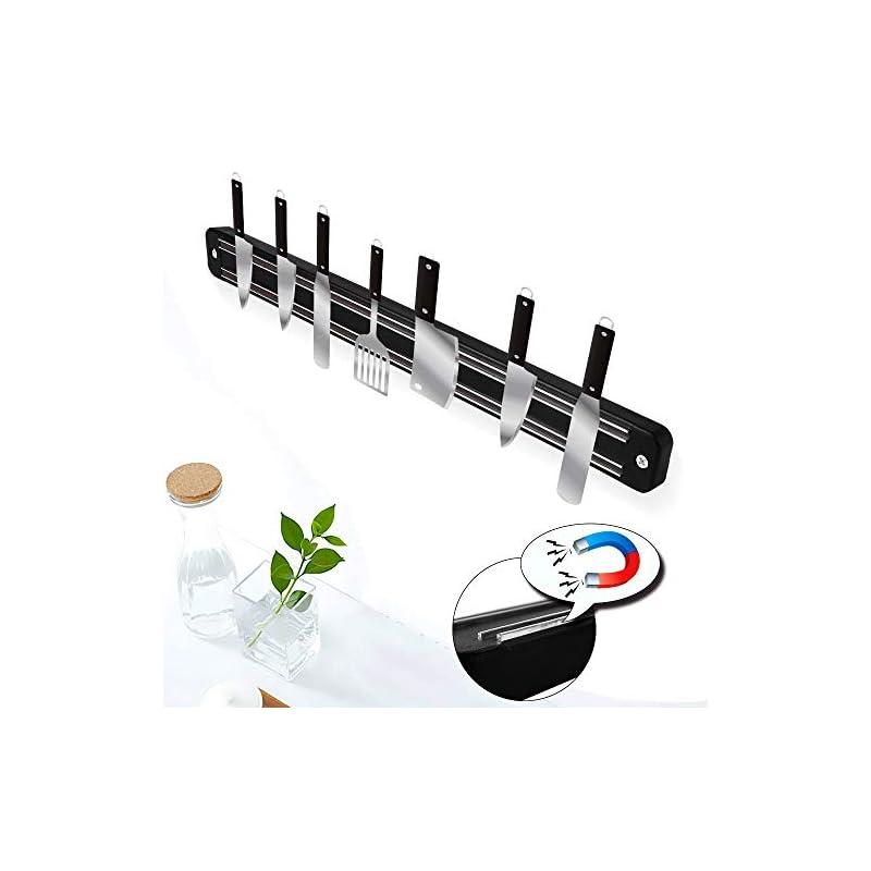 Yitoo 3 Stck Magnetleiste Messer Edelstahl Messerhalter Magnetisch Messer Magnetleiste Fr Messer Kche 33 X 33 X 11cmstck 280gstck