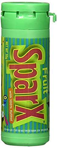 Sparx Fruit Xylitol Sweets 30g