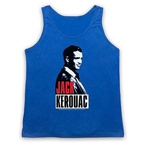 Jack Kerouac On The Road 2 Tank-Top Weste Blau
