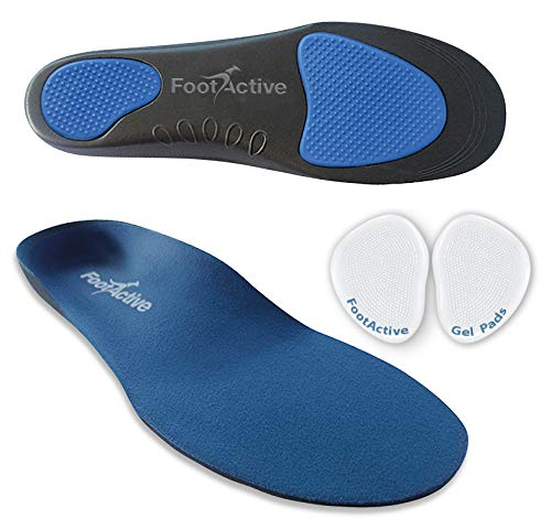 FootActive Comfort - Original Marken Einlegesohlen - Herrlicher Laufkomfort für Füße, Beine und Rücken, speziell bei Fersensporn (39-41 S)