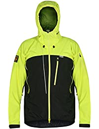 Paramo Directional Clothing Systems Enduro Windproof Chaqueta, Hombre, Hi-Vis Yellow, Small
