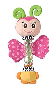 Playgro Tinkle Teething Aide with Bright Colors and Bells, Butterfly by Playgro USA