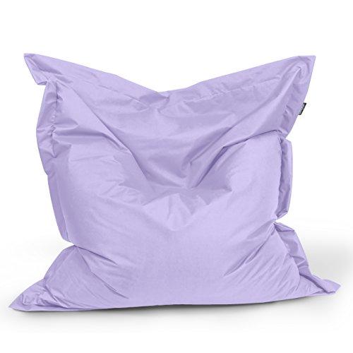 BuBiBag Sitzsack Rechteck Größe 180x145 cm (Flieder)