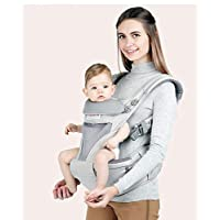 EasywayTrade Ltd Aimama all in one Muti Position Baby Carrier with bottle holder and pouch - Grey