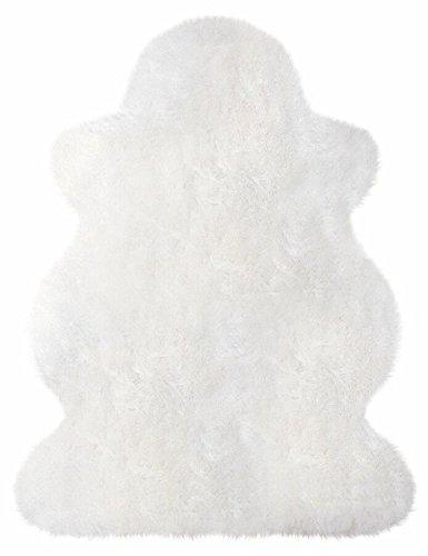 Heitmann Lammfell 70-80 cm naturweiß