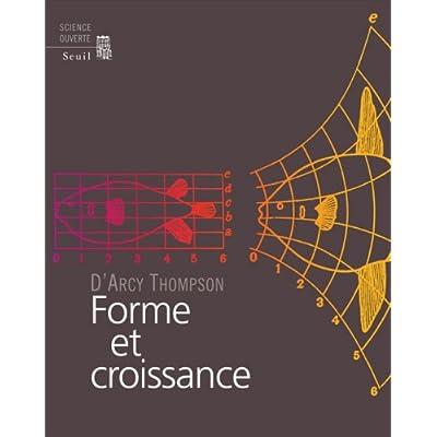 Télécharger Forme et croissance PDF Livre