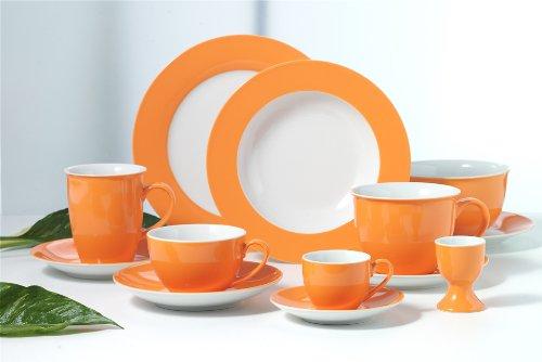 Ritzenhoff & Breker 6 Kaffeebecher 320ml Doppio orange - Flirt