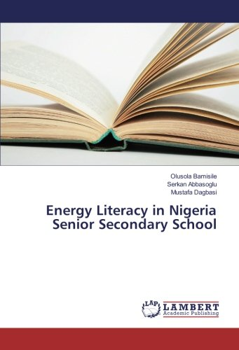 Energy Literacy in Nigeria Senior Secondary School