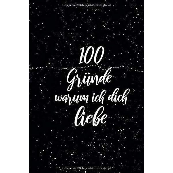 Warum dich ich liebe 100 dinge quaitahane: 100