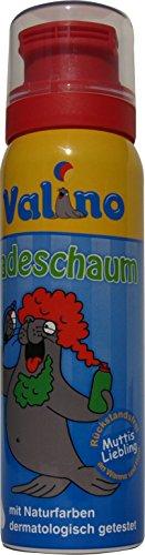 Valino Badeschaum rot, 6er Pack (6 x 75 ml)