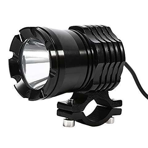 VGEBY Universel Motocycle Phare LED Headlight Spot Lamp Ampoule Indicateur Lumière Blanche 30W